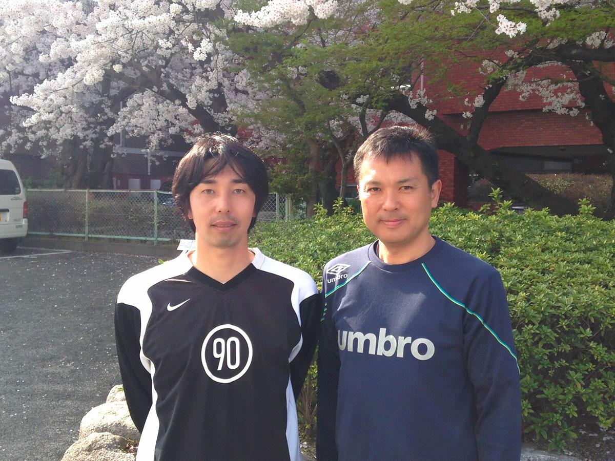 元サッカー日本代表の山下選手