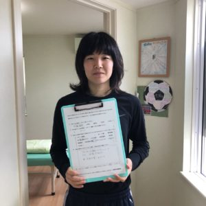 ロンドン・リオ両五輪 テコンドー日本代表 濱田真由選手 来院